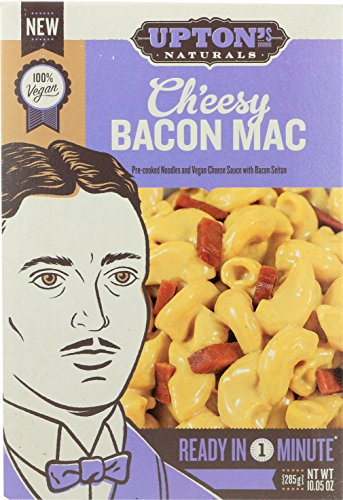 Upton's Naturals Ch'eesy Bacon Mac - 10.05 oz boxes (Pack of 6)