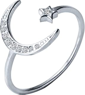 Princess Kylie 925 Sterling Silver Wicca Witchcraft Split Band Ring