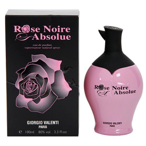 Rose Noire Absolue by Giorgio Valenti Eau De Parfum Spray 3.4 oz / 100 ml (Women)