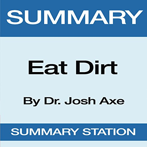 Summary of Eat Dirt by Dr. Josh Axe audiobook cover art