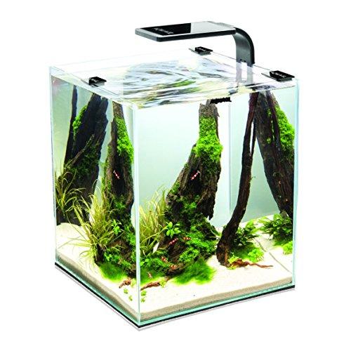 Aquael Aquarium Shrimp Set SMART LED, Komplettset mit moderner LED-Beleuchtung (schwarz, 20 Liter) - 2