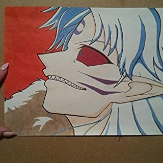 Sesshomaru mid-transformation