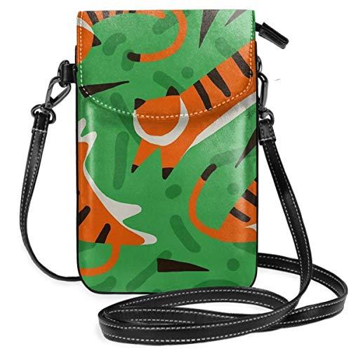 Tiger Jungle - Cartera ligera para teléfono celular, con práctico transporte