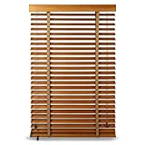 Threesome Persiana/Estor Bambú,30''X72'',Estor Enrollable De Bambú Natural,Fácil De Instalar,En Interiores Y Exteriores