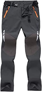 comprar comparacion Haobing Pantalones de Trekking con cinturón Secado rápido Transpirable Pantalon de Acampada y Marcha para Hombre