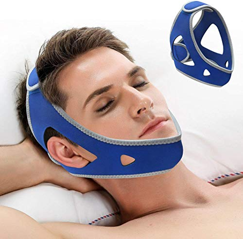 LucaSng Chin Strap for CPAP Users- Snore Stopper & Anti Snore Chin Strap...