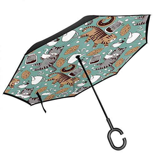 Paraguas Con Gatos  marca HHL