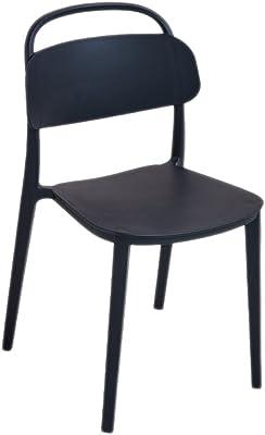 TXC- Modern Minimalist dining chair Home Creative Plastic Chair Durable (Color : A)