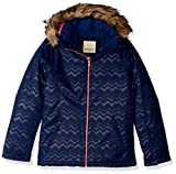 Roxy Snow Big American Pie Solid Girl Jacket, Medieval Blue AZTECSPIRITEMBOS, 8/S