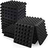 KS Global   Pack of 9   2'x12'x12' Acoustic Foam Panels Sound Proof Foam Panels, High Density Soundproof Foam Panels Work for Wall, Soundproofing Wedges for Studio, Home & Office Decreasing Noise and Echoes