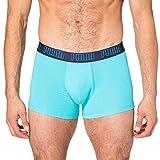 PUMA Basic Pack de 2 Calzoncillos, Azul (Aqua/Blue), S Hombre