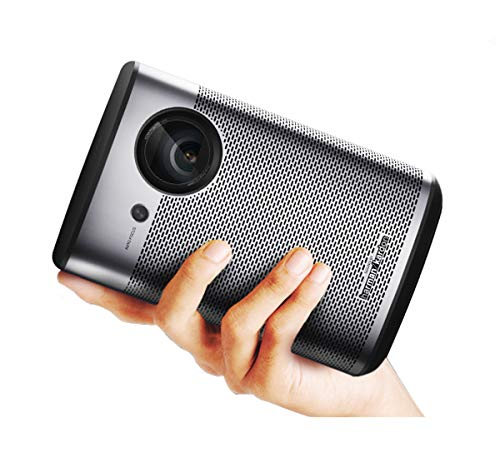 LiveTV.Direct Portable Cinema Projector, XGIMI PlayX Native 1080p HD Android 3D Home Cinema Projector Built-in 58.6Wh Batteries Harman/Kardon Original Sound with LiveTV.Direct Enhanced Services