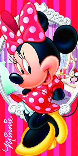 Export Trading Disney-Toalla de Microfibra con diseño Mickey & Friends, 140 x 70 cm, Unico, 140x70x1 cm