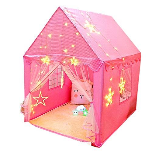 Tiendas de campaña Carpa para niños casa de juegos para niños en interiores carpa de casa de juguetes para interiores carpa de casa de grandes sueños para niñas carpa plegable para niños niñas y niños
