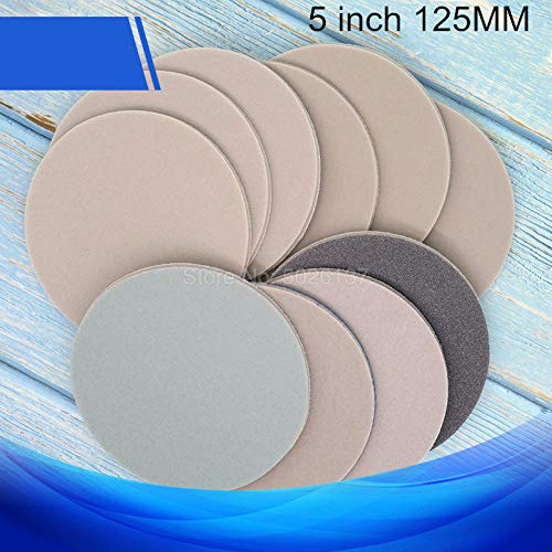 1Pcs 5-INCH 125MM Back Velvet Brushed Disco esponja