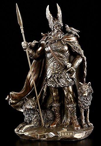 Odin Figur mit Wölfen - Veronese