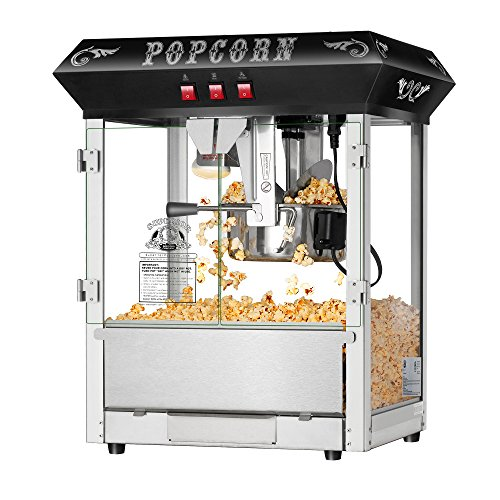 Find Bargain Hot and Fresh Countertop Style Popcorn Popper Machine-Makes Approx. 3 Gallons Per Batch...