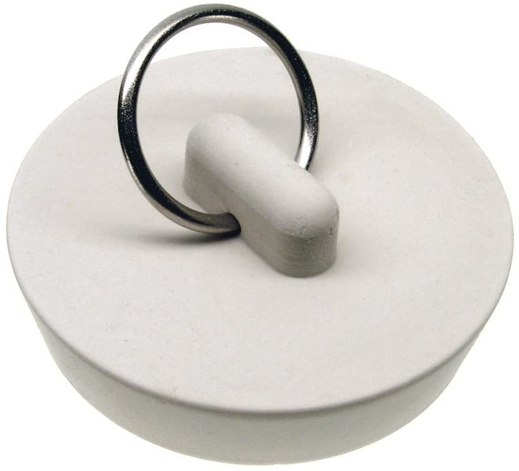 Danco 35979B Fashionable 1-5 National uniform free shipping 8-Inch Rubber Drain Bag White per 1 Stopper