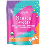 Nausea relief: These sweets provide relief from nausea, morning sickness, and motion sickness. 30 individually wrapped sweets with a natural peppermint flavor. Sweet + convenient: On-the-go, sweet relief. Individually and discreetly wrapped. 100% org...