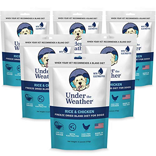 Under the Weather Easy to Digest Bland Dog Food...