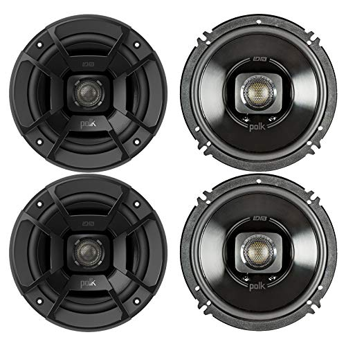 """Polk Audio - Two Pairs of DB652 6.5"""" Coaxial Speakers - Marine and Powersports Certification"""