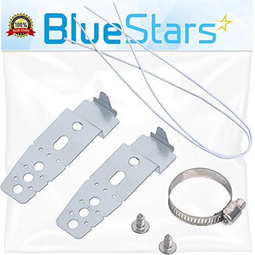 Ultra Durable 5001DD4001A Dishwasher Mounting Brackets Replacement Part by Blue Stars- Exact fit for LG Dishwasher- Replaces PS3525525 AH3525525 AP4438292 1266844