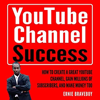 YouTube Channel Success audiobook cover art
