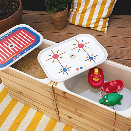 Limmaland Matschküche Bauen mit Stickern passend für Deine IKEA Trofast Box - Boxen Nicht inklusive