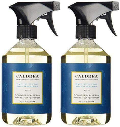 Caldrea Countertop Cleanser - Basil Blue Sage - 16 oz - 2 pk