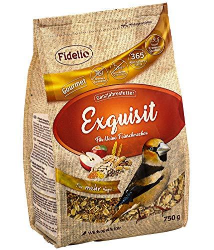 Fidelio Wildvogelfutter, Exquisit, schalenfrei, 750 g