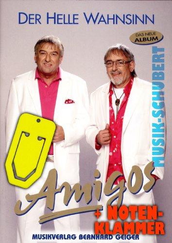 Amigos Songboek van de Helle key incl. praktische notenklem - alle hits van de succesvolle CD gearrangeerd voor piano / keyboard met akkoorden en volledige tekst (gebrocheerd) (noten/Sheetmusic)