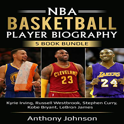 『NBA Basketball Player Biography 5 Book Bundle』のカバーアート