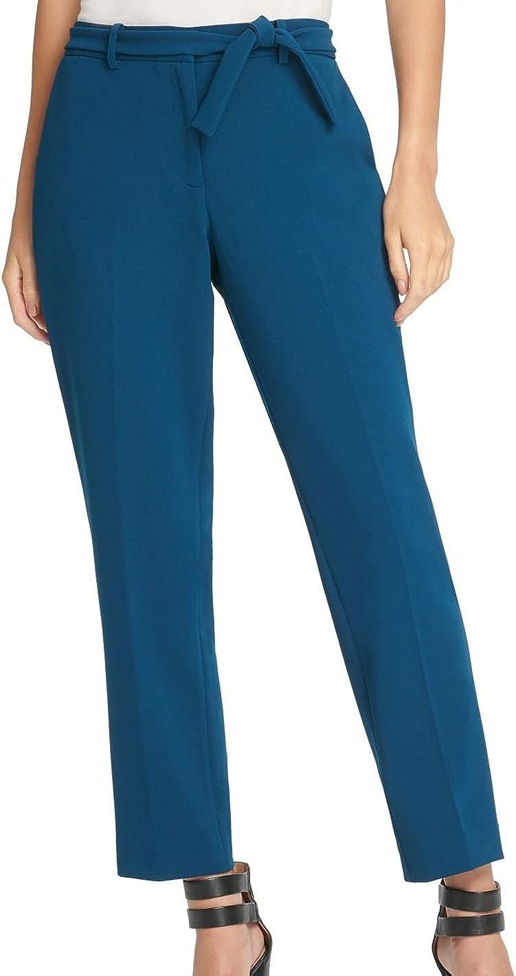 DKNY Womens Skinny Wear to Work Ankle Pants