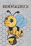 Bienentagebuch: 4in1 Bienentagebuch für Imker, 6x9 Buch für eine gute Übersicht über deine Bienenvölker, mit 59 Stockkarten, Dokumentationen zur ... von Arzneimitteln sowie Notizfeldern