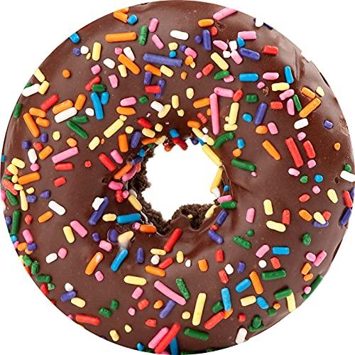 KLily Manta De La Serie Donut Biscuit, Manta Redonda De Aire Acondicionado para Siesta Doméstica, Lavable
