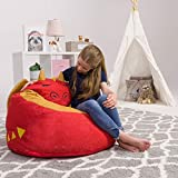 Posh Beanbags Bean Bag Chair, Animal - Red Dragon