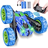 Remote Control Car,RC Cars Stunt Car Toy,4WD 2.4Ghz Double Sided 360° Flips Rotating Vehicles with...