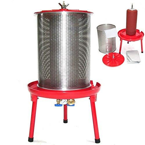 D+L Hydropresse 40L Saftpresse Obstpresse 56324 Wasserpresse Weinpresse 40 Liter Maischepresse Mostpresse hydraulisch