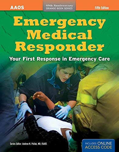 Emergency Medical Responder (Orange Book) by American Academy of Orthopaedic Surgeons (AAOS) (27-Aug-2012) Paperback
