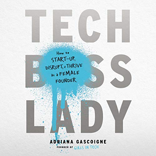 Tech Boss Lady audiobook cover art