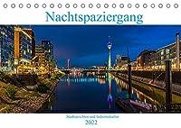Nachtspaziergang (Tischkalender 2022 DIN A5 quer): Stadtansichten und Industriekultur in Deutschland bei Nacht (Monatskalender, 14 Seiten )