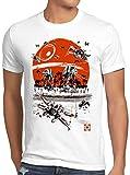 A.N.T. Scarif L'offensive des plages T-Shirt Homme Rogue at-at étoile de la Mort, Taille:5XL