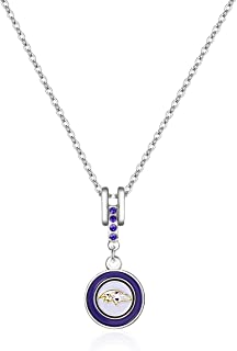 NFL Charm Necklace, Sports Fan Jewelry Gift, Fashion Jewelry, Birthday & Holiday Gifts for Women and Girls