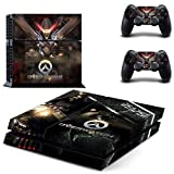 Overwatch PS4 Wrap Skin Cover - Playstation 4 Vinyl Decal Sticker Protective for PS4 Console and 2 PS4 Controller by Mr Wonderful Skin
