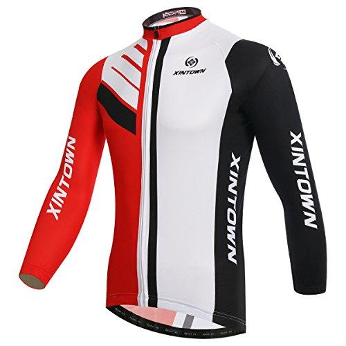 CAOYNY Maillot Ciclismo Hombre Verano De Manga Corta,Camiseta De Ciclismo De Manga...