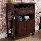Red Barrel Studio Samuel Bar Cart & Reviews | Wayfair