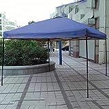 Gazebo Pavillon 3mx3m, Wasserdicht Faltbare Pavillon Zelt Faltpavillon Festzelt/FüR Garten/Party/Hochzeit/Picknick/Markt LDFZ