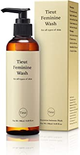 Tieut Feminine Wash 200mL - Women's Gentle Intimate Feminine Wash Vaginal wash for Odor Block and Protection pH Balanced Organic Vaginal Soap and Cleanser