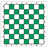 WE Games Green Mousepad Chessboard, 20 inches - made in USA