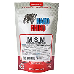 Hard Rhino MSM (Methylsulfonylmethane) Powder